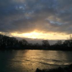 Icey Sunrise, Ann Grasso Fine Art
